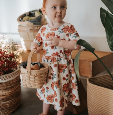 Little & Lively - Peony Daphne Dress