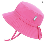 Jan & Jul - Watermelon Pink Aqua Dry Pink Bucket Hat