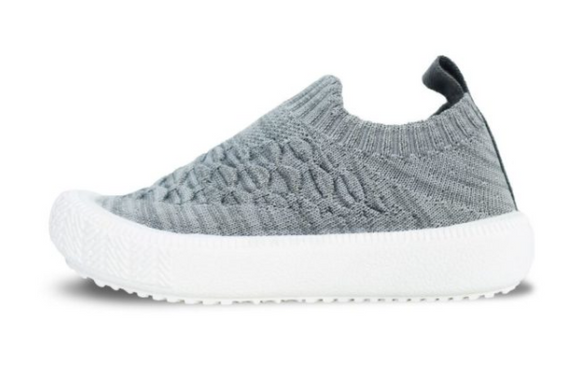 Jan & Jul - Grey Xplorer Knit Shoe Sizes 6.5-12