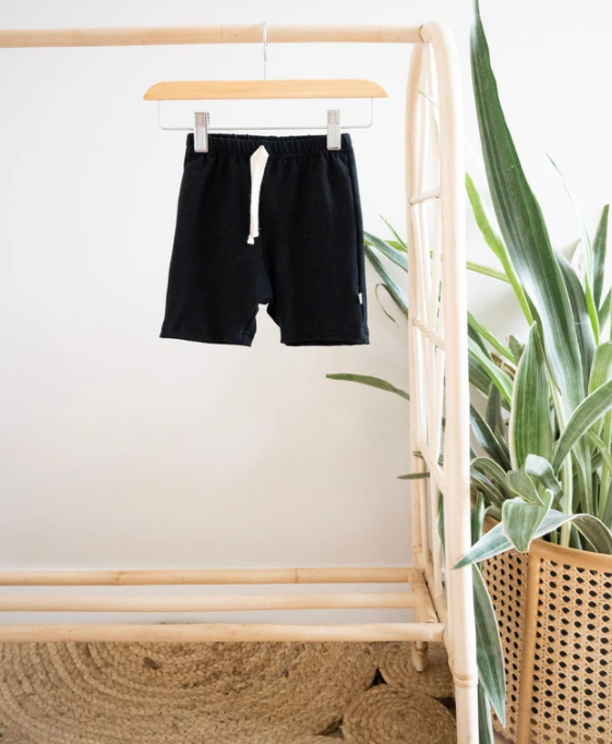 Jax & Lennon - Black Everyday Shorts