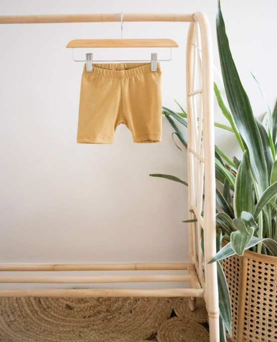 Jax & Lennon - Golden Sun Bike Shorts