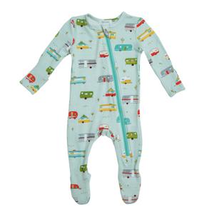 Angel Dear - Happy Camper Bamboo Sleeper 9-12m