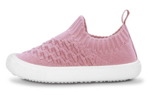 Jan & Jul - Pale Pink Xplorer Knit Shoe Size 6.5-9