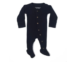 L'oved Baby Thermal Overall Black (0-6m)