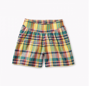 Tea - Madras Culotte Shorts Sizes 4-5