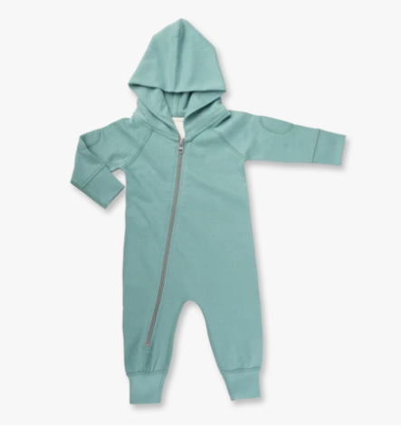 Sapling - Dusk Green Winter Zipsuit (18-24m)