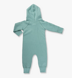 Sapling - Dusk Green Winter Zipsuit