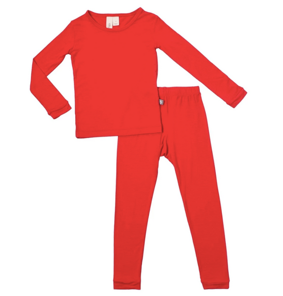 Kyte Bamboo - Toddler Set Crimson 2T