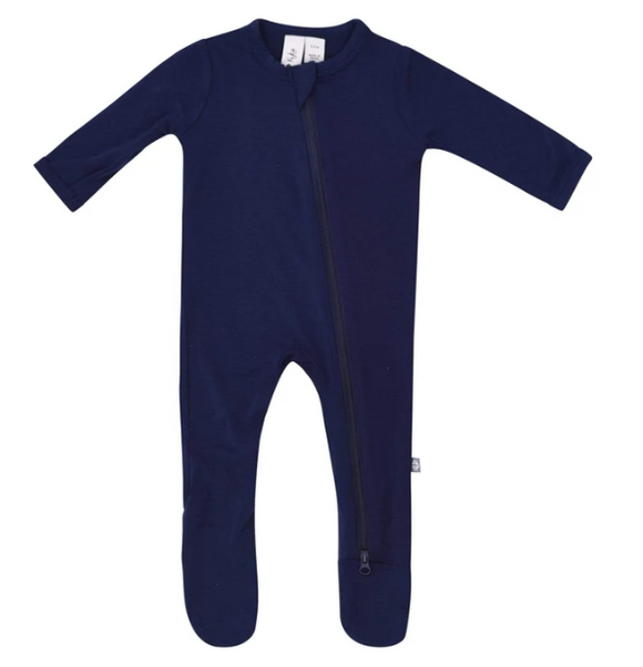 Kyte Bamboo Zip Sleeper - Navy 0-6m