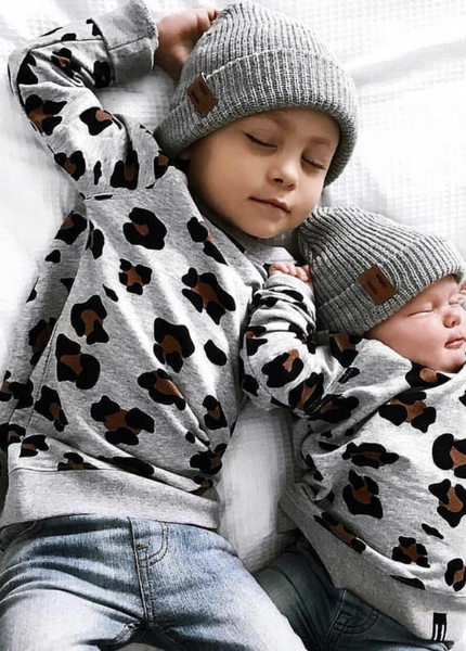 Beau Hudson - Kids Leopard Sweater