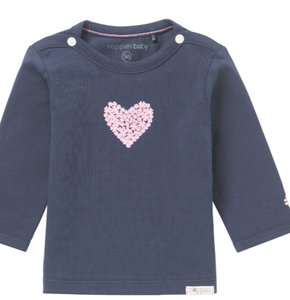 noppies - natick navy ls (1-9m)