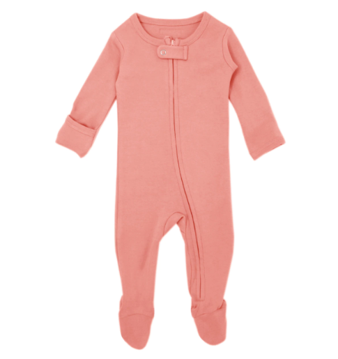L'oved Baby - Coral Zip Sleeper 3-24m
