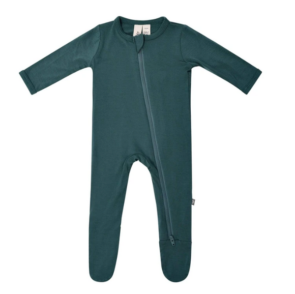 Kyte Bamboo Zip Sleeper - Emerald 6-12m