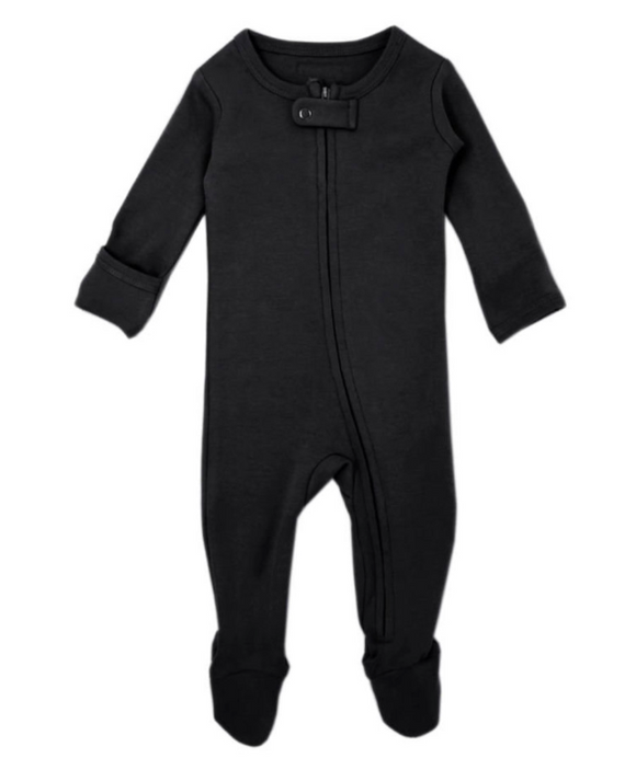 L'oved Baby - Black Zip Sleeper 9-24m
