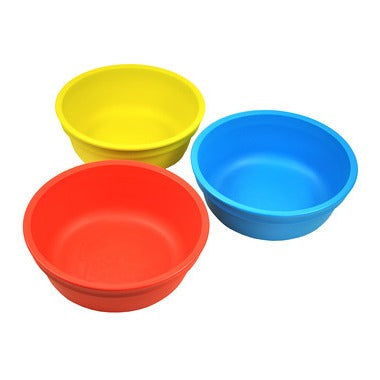 Replay Bowls - Red, Yellow, Sky Blue