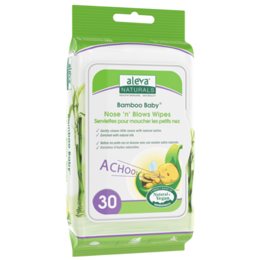 Aleva - Nose 'n' Blows Wipes