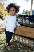 Load image into Gallery viewer, L'oved Baby Organic Leggings - Navy (0-9m)