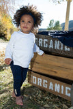 L'oved Baby Organic Bottoms - Navy (0-6m)