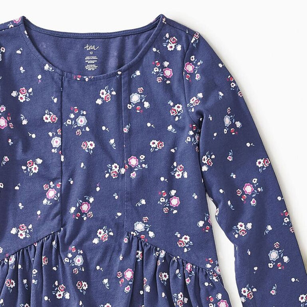 Tea - Winter Blooms Hi-Lo Dress Sizes 10 - 16