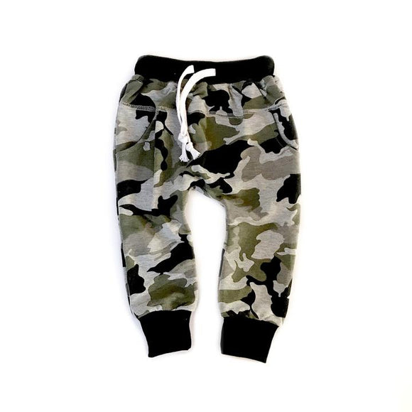 Little Bipsy Unisex Camo Joggers