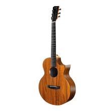 Load image into Gallery viewer, Enya X1C HPL Cutaway Travel Guitar