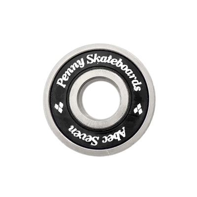 Black Abec 7 Bearings Set