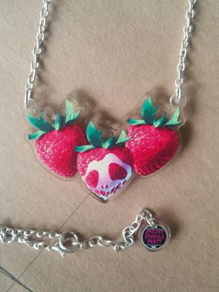 Die Chromaberry Necklace Red