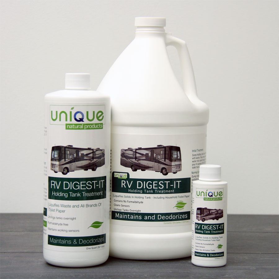 Unique Natural Products | RV Digest-It Holding Tank