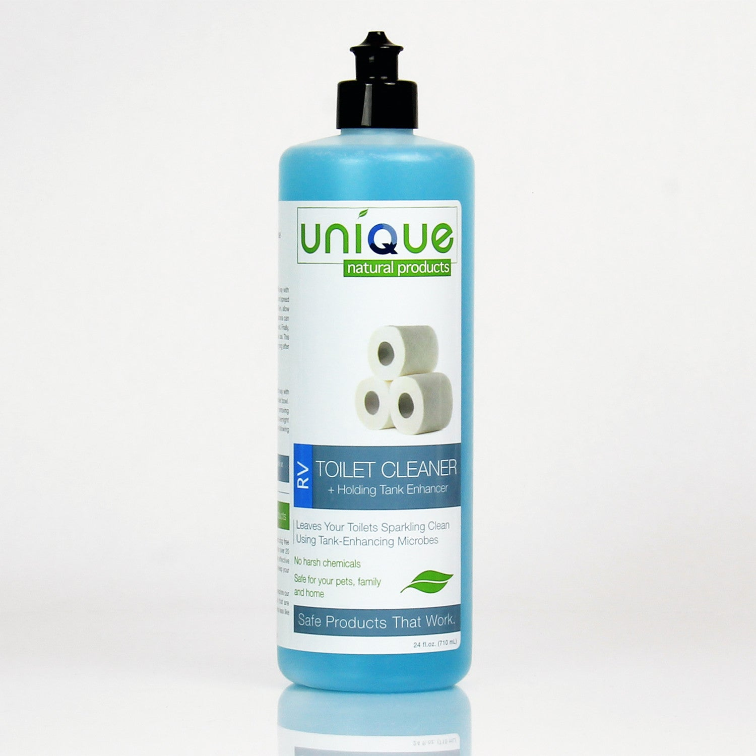 Unique Natural Products | RV Toilet Bowl Cleaner + Holding Tank ...