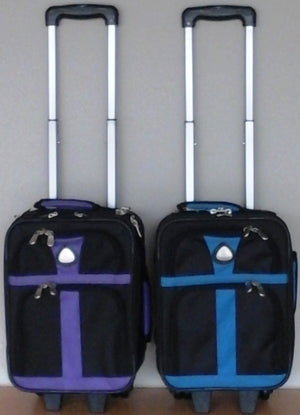 Avalon Two Tone Trolley Locker Bag