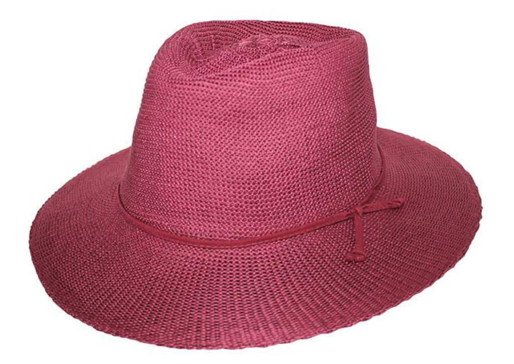 Ladies Broad Brim Cancer Council Hat