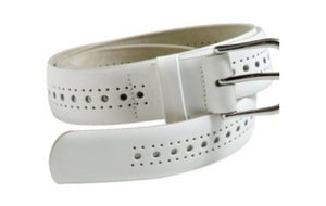 Men's Porthole Leather Belt