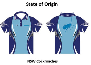 Unisex Rugby League State of Origin Tournament Shirts