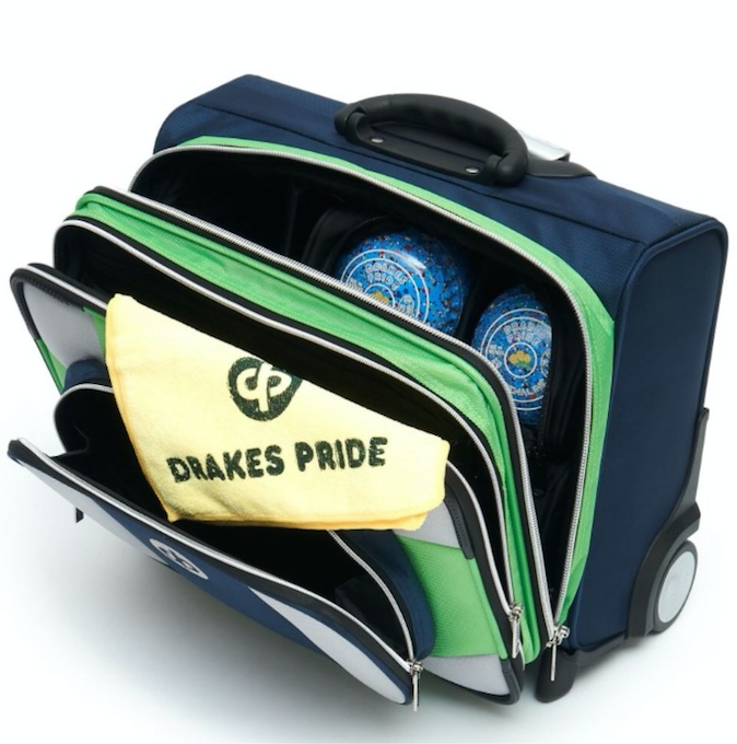 Drakes Pride Low Roller Trolley Bag