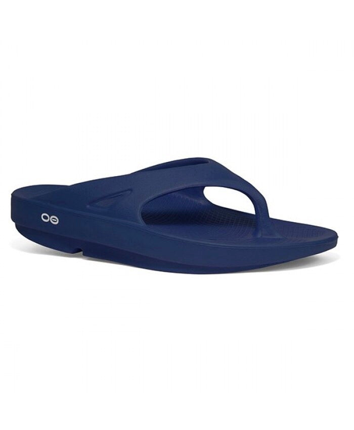 OOFOS OOriginal Unisex Thongs Navy