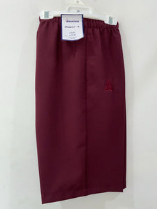 Domino Women's Shorts (Maroon)