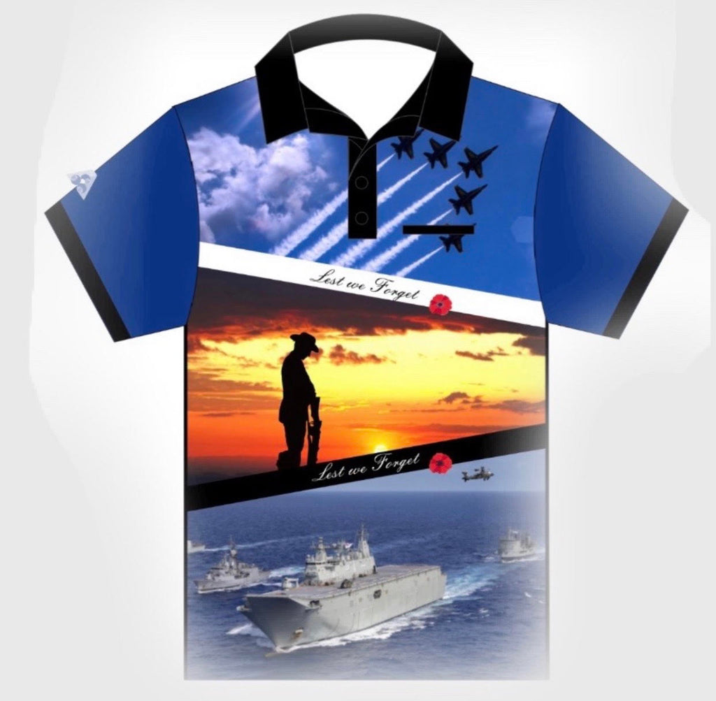 Unisex Armed Forces Tournament Shirt