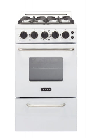 Unique 20'' Convection Gas Range