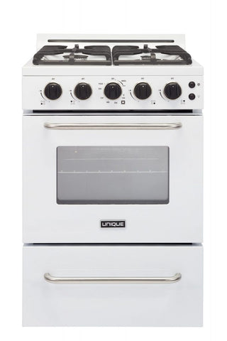 Unique 24'' Convection Gas Range