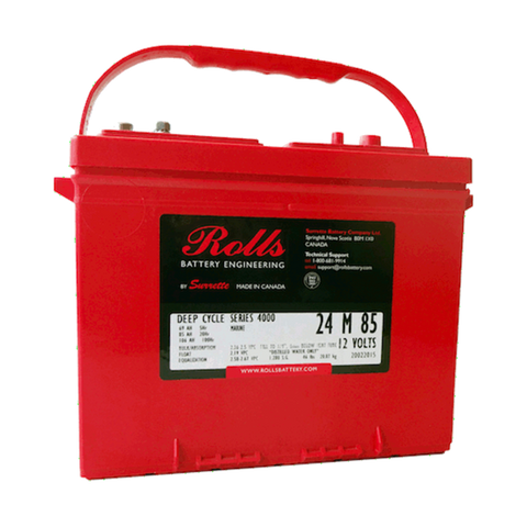 Surrette Rolls 24M-85 12V 85 AH Battery