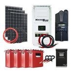 Off Grid Solar Kit - 300W X 3 Panel Setup - 24V