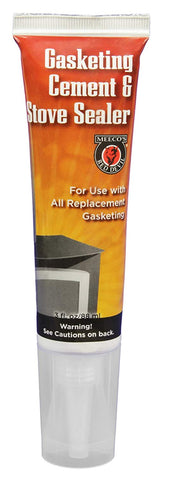 Meeco's Red Devil Gasketing Cement & Stove Sealer (2.8 fl. oz)
