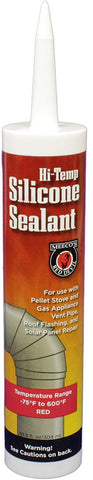 Meeco's Red Devil Hi-Temp Silicone Sealant (10.3 fl. oz)