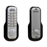M210 EZ Mechanical OFF-GRID (BATTERY FREE) Digital Combination Deadbolt Lock