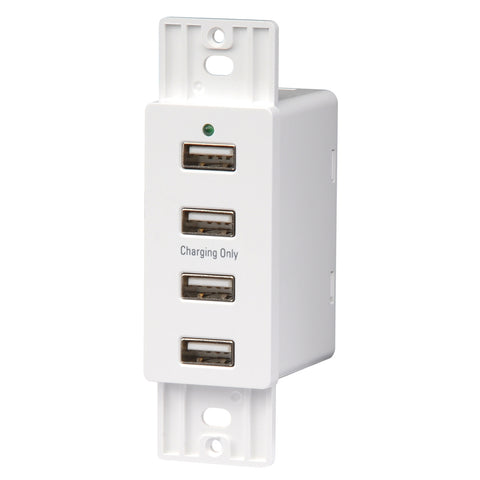 WALL MOUNT USB X4 PORTS