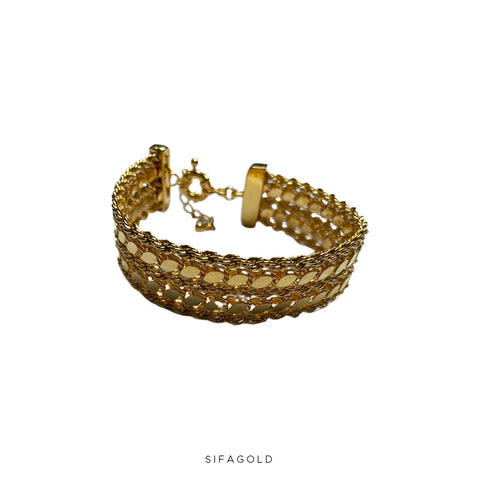 Double Pullu 22k Goldplated