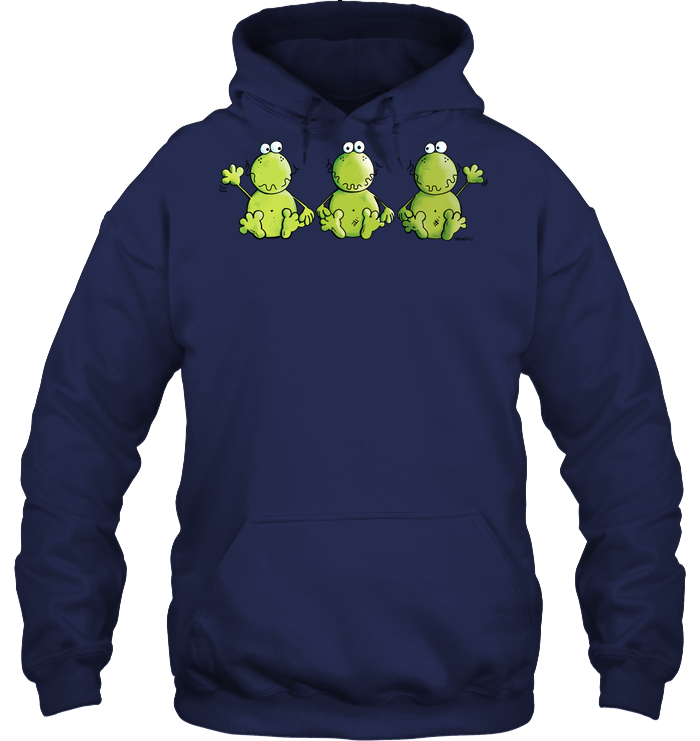 Three Funny Frogs   Animal   Comic   Friends