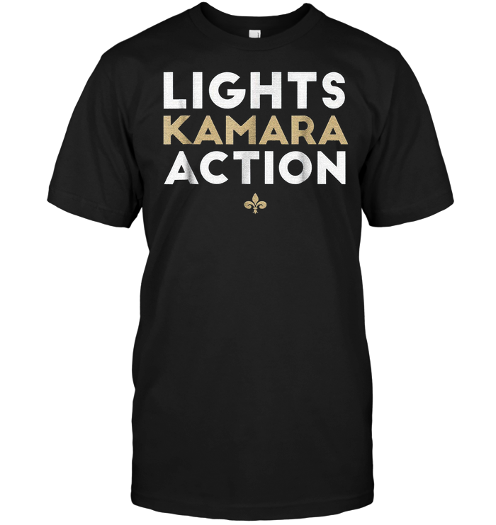 Lights Kamara Action Funny Football T-Shirt New Orleans