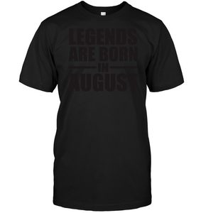 8183 Legends Are Born In August Shirt