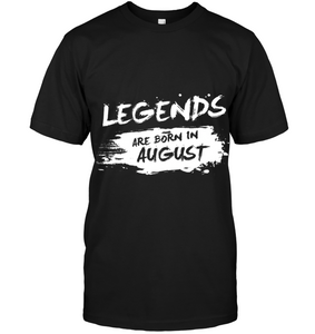 8140 Legends Are Born In August Shirt